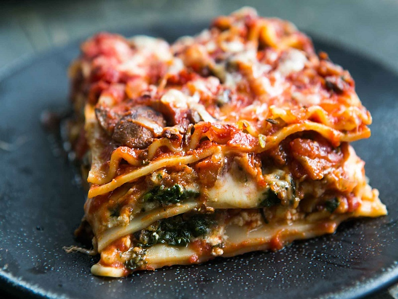 Vegetable Lasagna A Vegetarian And Healthy Recipe The