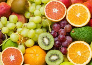 fruits with high sugar