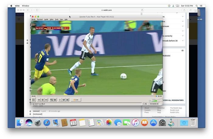 Ace Stream on Mac
