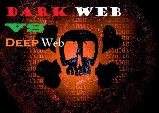 dark web vs deep web
