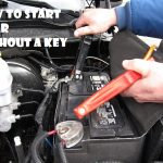 how to start a car without a key