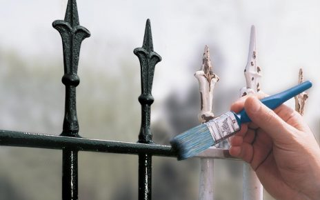 How to paint a gate
