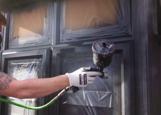 How to paint pvc windows