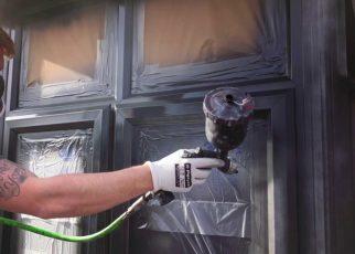 How to paint pvc windows