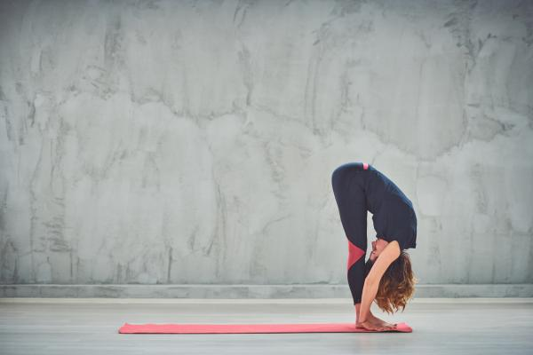 Bend and stretch your lower back