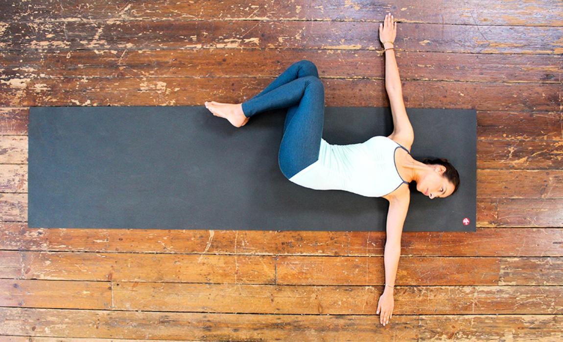 Lumbar twisting exercise